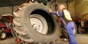 Raben Tire offers 24 hour onsite service for your farm