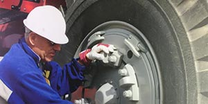 Raben Tire has OTR experts on staff