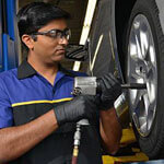 Raben Tire also performs maintenance on your entire car