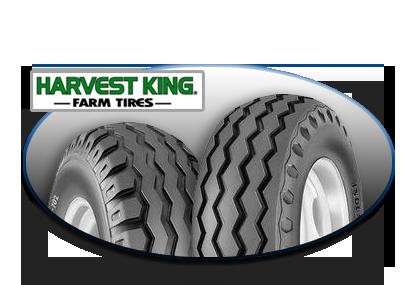 Harvest King Farm Tires Image Collage